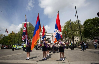 Homenetmen London at 99th Anniversary Events